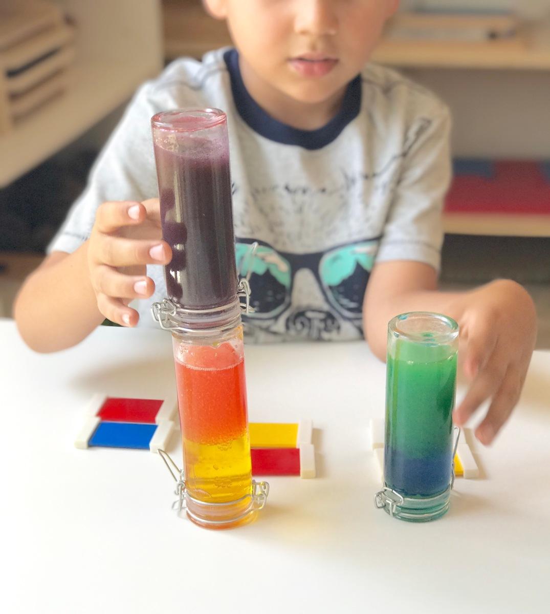 Aprendiendo Colores Primarios y Secundarios