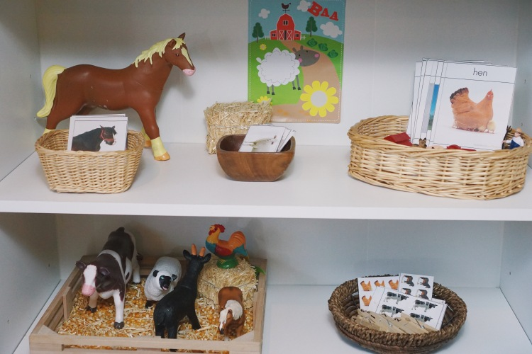 Actividades preescolares de granja para peques