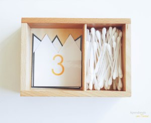 math printables with skeleton theme and use of q-tips