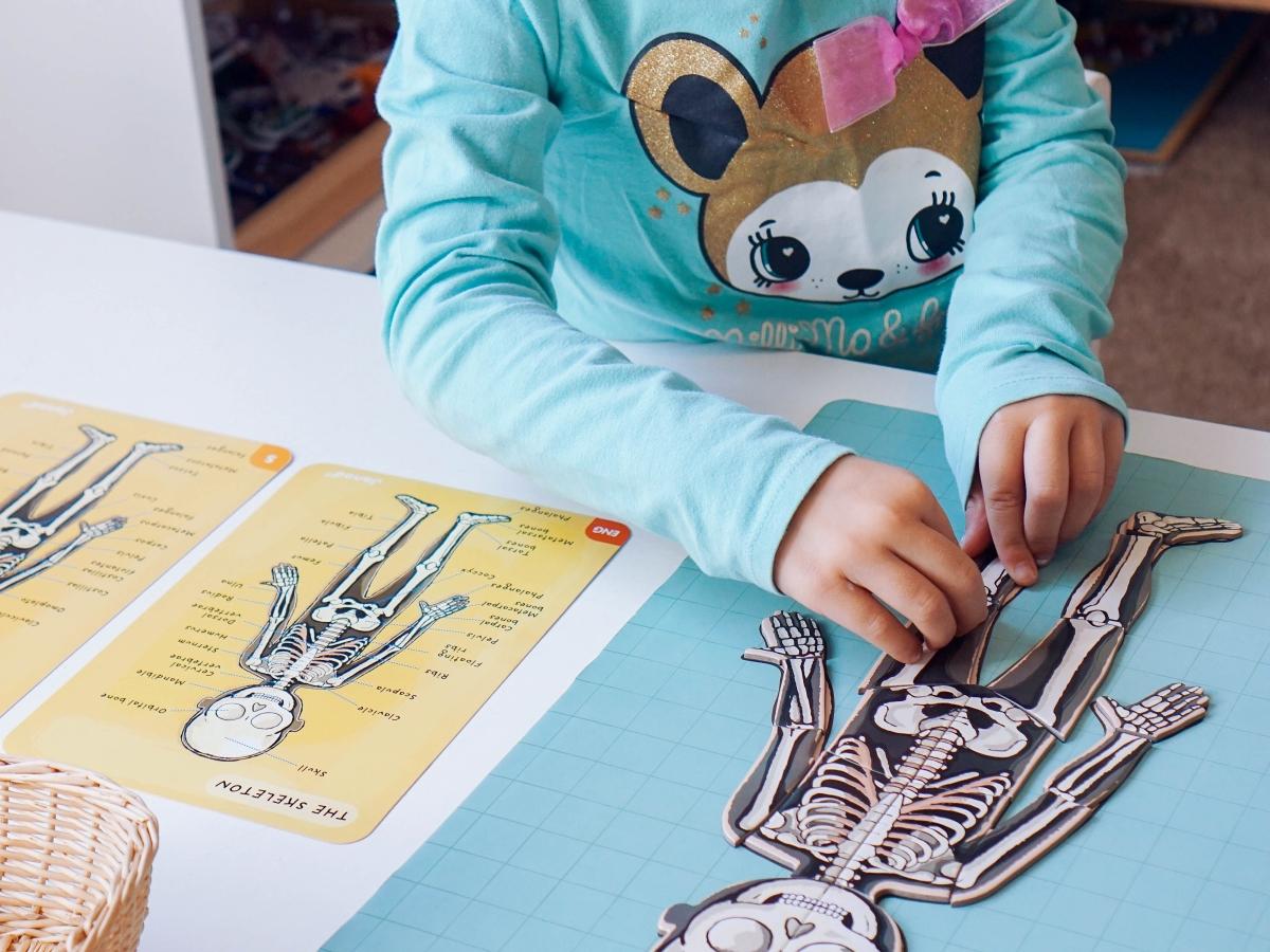 Actividades Montessori para niños preescolares